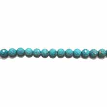 STABILIZE TURQUOISE 08MM FACETED