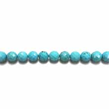 STABILIZE TURQUOISE 10MM FACETED