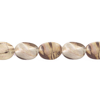 CAPPUCCINO WAVE FLAT OVAL 22X30MM