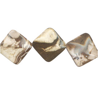 CAPPUCCINO WAVE FLAT DICE 25X30MM