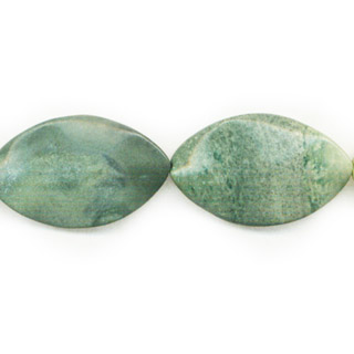 GREEN PICASSO JASPER WAVE MQ 25X40MM