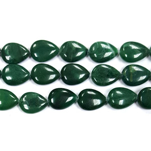 AFRICAN JADE PEAR 13X18MM