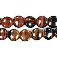 AUTUMN AGATE DISC 16MM