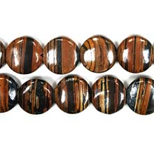 AUTUMN AGATE DISC 20MM