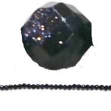 BLUE GOLD STONE 04MM FACETED