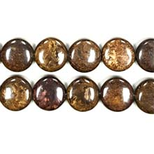 BRONZITE DISC 18MM