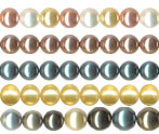 SHELL PEARL ROUND BEADS