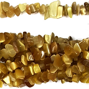 CAT\'S EYE BROWN CHIPS (5 STRS)