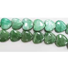 CHINA JADE PUFF HEART 12MM