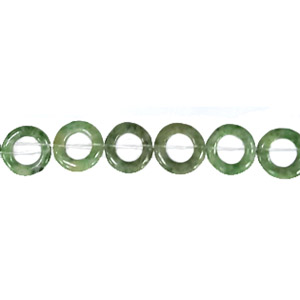 CHINA JADE LOOSE DONUT 12MM