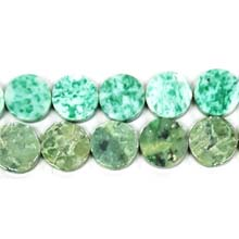 CHINA JADE COIN 16MM