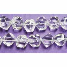 CRYSTAL FACETED NUGGET 16MM