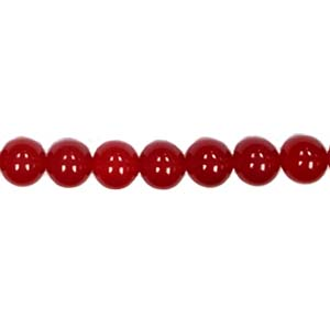 DYED RED JADE 12MM