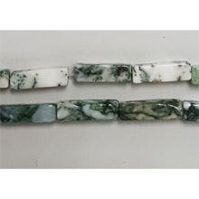 TREE AGATE SQUARE 04X13MM