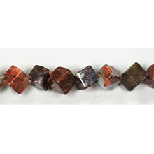POPPY JASPER SQUARE 06MM A/A