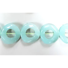 DYED JADE TWIST DOUNT 25MM MINT COLOR