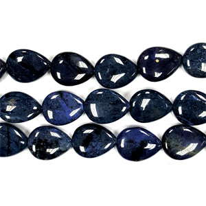 DUMORTIERITE PEAR 15X20MM