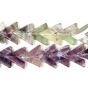 FLOURITE V SHAPE 15MM