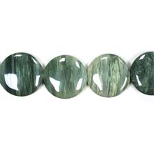 GREEN SEGA AGATE DISC 30MM