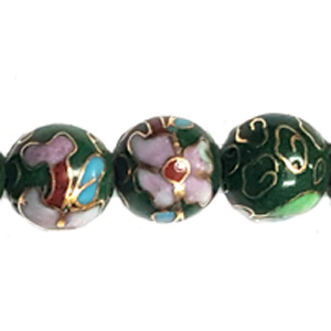 CLOISONNE 16MM GREEN