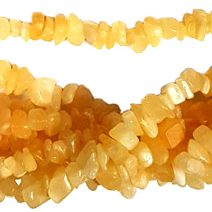 HONEY JASPER CHIPS (5 STRS)