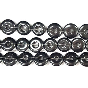HEMATITE LOOSE DONUT 12MM