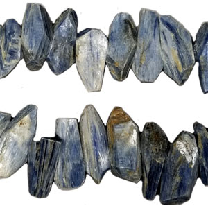 KNYNITE FACETED FLAT NUGGET CENTAL DRILL14X28MM-25X50MM
