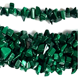 MALACHITE CHIPS ( 5 STRS)