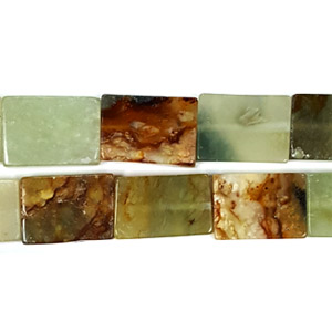 NEW JADE MULTI RECTANGLE 15X21MM