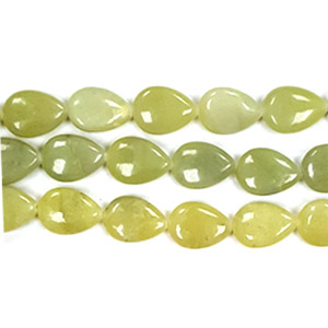 NEW JADE PEAR 13X18MM