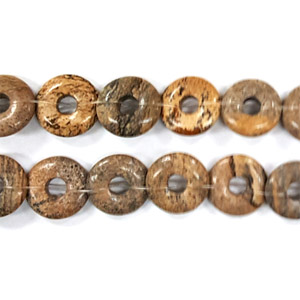 PICTURE JASPER LOOSE DONUT 14MM