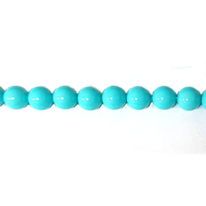 SHELL PEARL PL245 08MM TURQUOISE
