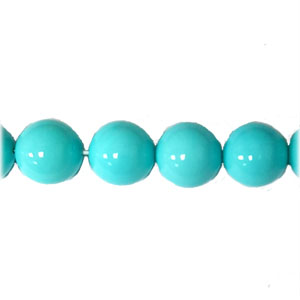 SHELL PEARL PL245 18MM TURQUOISE