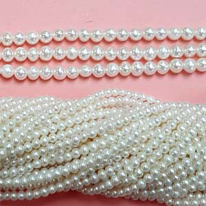 FRESHWATER PEARL POTATO 02.5-3MM WHITE