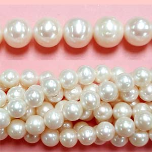 FRESHWATER PEARL POTATO 10-11MM WHITE