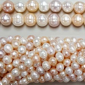 FRESHWATER PEARL POTATO 08-8.5MM NATURAL MULTI