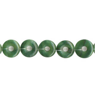 AFRICAN JADE LOOSE DONUT 14MM
