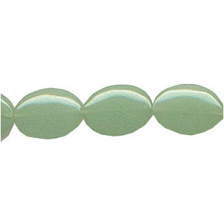 AVENTURINE FLAT OVAL 13X18MM