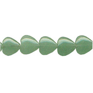 AVENTURINE PUFF HEART 12MM