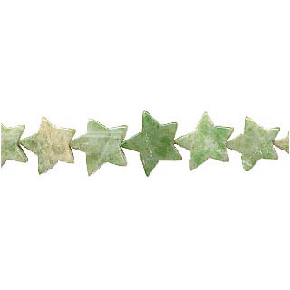 CHINA JADE FLAT STAR 12MM