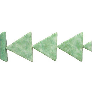 CHINA JADE TRIANGLE 16MM