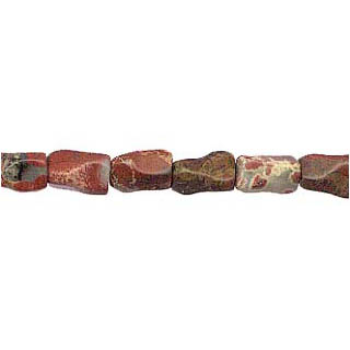POPPY JASPER BONE 07X10MM