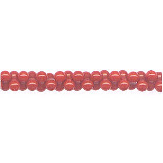 PEANUT 4X8MM DYED RED CORAL