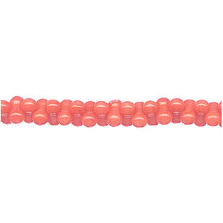 PEANUT 4X8MM DYED PINK CORAL