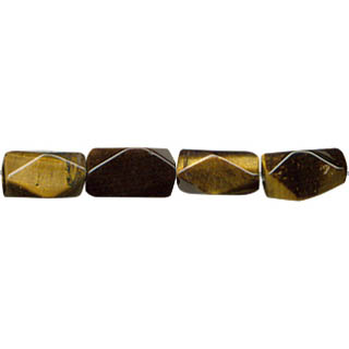 TIGER EYE D. FACETED CUTTING NUGGWT