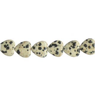 DALMATION PUFF HEART 12MM