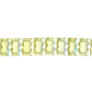 corlored cubie zirconia  faceted rectangle
