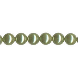 SHELL PEARL PL240 08MM LIGHT GREEN