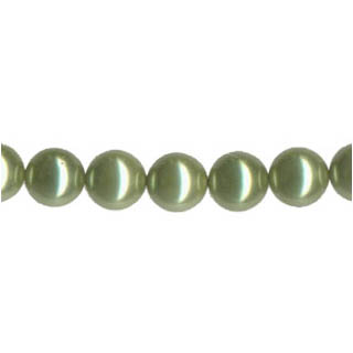 SHELL PEARL PL240 10MM LIGHT GREEN