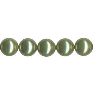 SHELL PEARL PL240 12MM LIGHT GREEN
